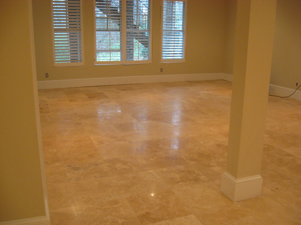 Travertine Honing Travertine Repairs Peak Floor Solutions LLC