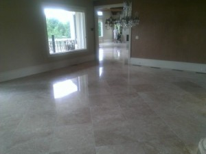Travertine after Johns Creek